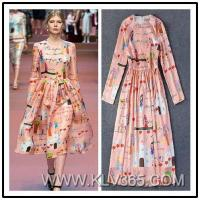 China Designer Fashion Dress Long Sleeve Maxi Party Dress For Women on sale