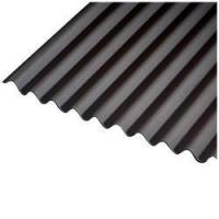 China Shade Card Bare Galvalume Roofing Sheet on sale