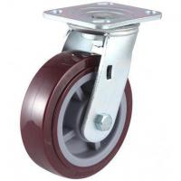 China 280~420kg Heavy Duty Polyurethane Wheel Caster on sale