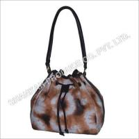 China Leather Tie & Die Hand Bag wholesale