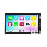 China Zonteck ZK-6005M 2 Din Car Stereo GPS 3G WiFi Player on sale
