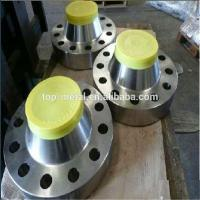 China stainless steel pipe fittings welding neck flange on sale