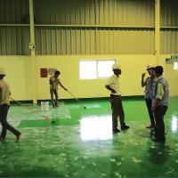 China Floor Paint Products Anti-Static Self-Leveling Epoxy Paint for Industrial Floor Coating wholesale
