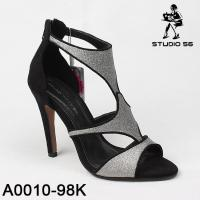 China new style fashion high heel shoes for women dress sandal shoes wholesale