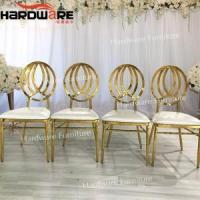 China banquet chair stainless steel wholesale