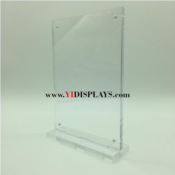 Quality Acrylic pop sign holder for sale