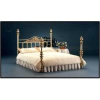 China FOME PILAR BRASS BED wholesale