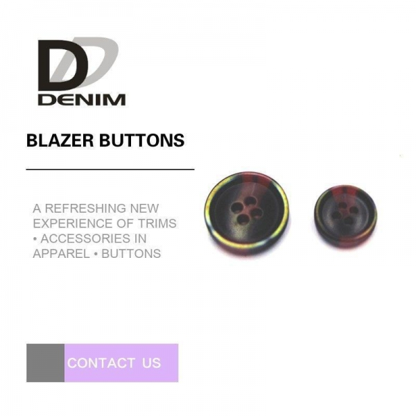 Quality Popular Colored Blazer Coat Buttons Fashion Design For Commercial for sale