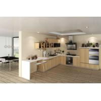 China White Laminate Kitchen Cabinets wholesale