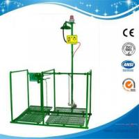 China SHD200SG-Pedaled safety shower & eyewash station with alram & signal systerm,SS304/G.I. on sale