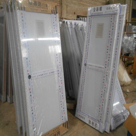 China Aluminium Frame Window with Double Clear Glass