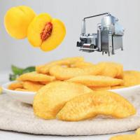 China Yellow Peach Vacuum Frying Equipment wholesale