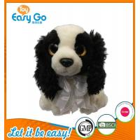 China Customized OEM promotion gift plush dog with tie wholesale