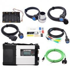 China MB SD Star C5 SD Connect Compact 5 Star Diagnosis with WIFI for Cars and Trucks Multi-Langauge