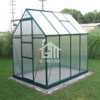 China 6.9'x9.2' 4mm Thick PC Free Extendable Double Wall Greenhouse on sale