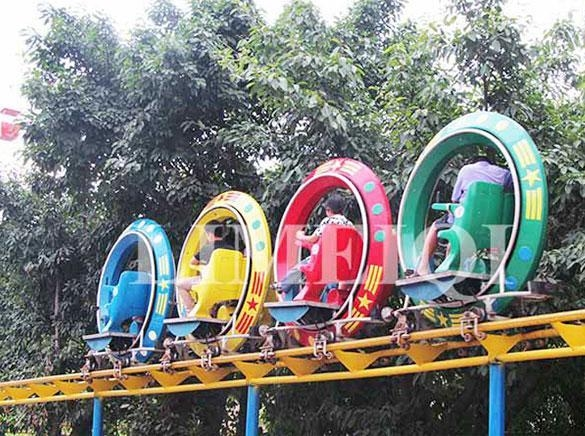 China Family Rides UFO Sky Bike Henan, China (Mainland)