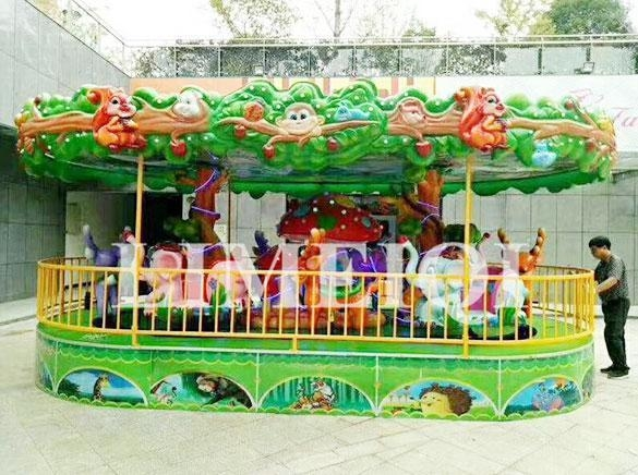 China Thrill Rides Forest Knight