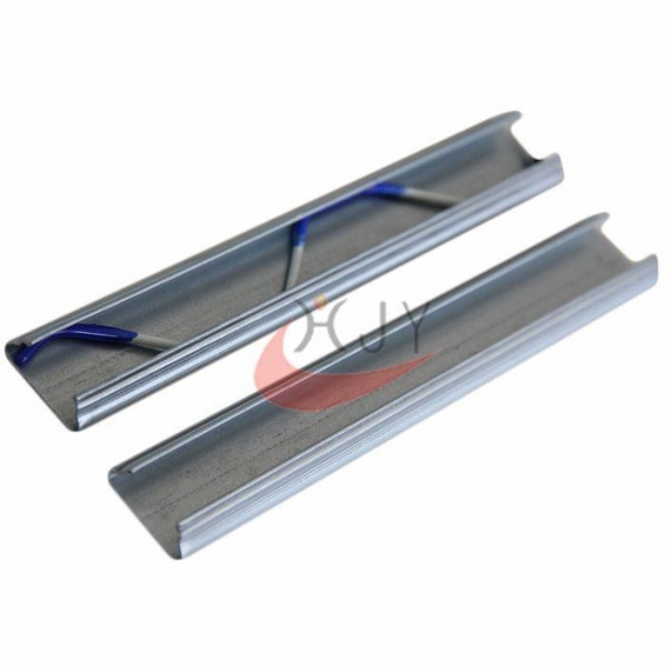 China Galvanized Steel Greenhouse Film Lock Channel Different Thickness