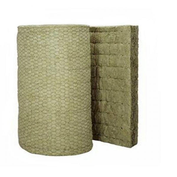 China Rock Wool Blanket With Wire Mesh