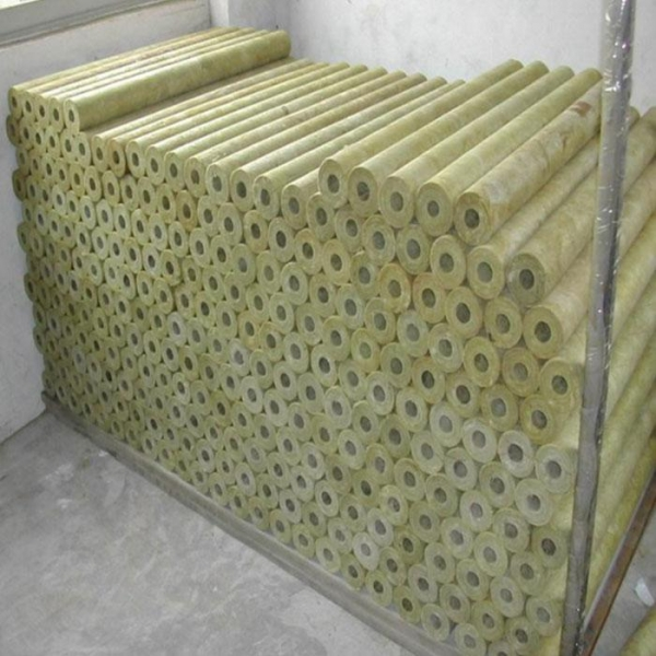 China Fireproof Rock Wool Pipe/ Mineral Wool Tube