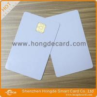 China Contact IC Card FM4442 blank white card wholesale