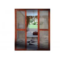 China Sliding Security Screen Doors From Top Aluminum on sale