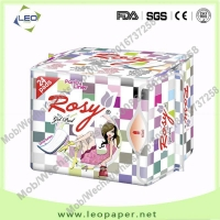 155mm (Incredibly Soft Nonwoven cotton TopSheet) panty liner