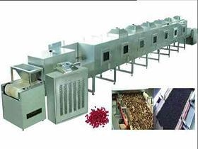 China tunnel microwave drying and sterilizing machine