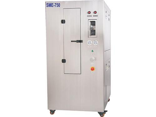 Quality SMT Pneumatic PCB Stencil Cleaning Machine SME-750 for sale