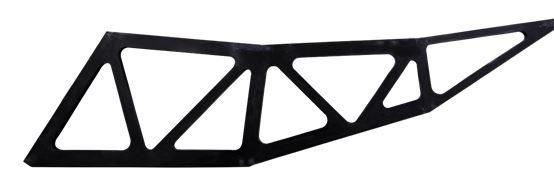 China Carbon Fiber Radial Beam /back Structure