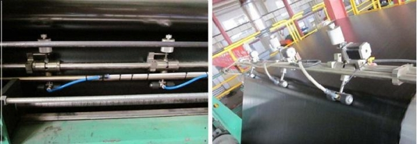 China Calender film thickness measurement and control system