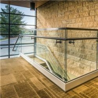 Buy cheap Durable U Channel Glass Handrail PRU012 from wholesalers