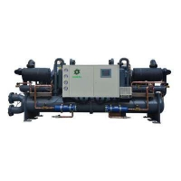 China Low Temperature Screw chiller -Heads wholesale