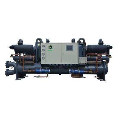 China Low Temperature Screw chiller -Heads