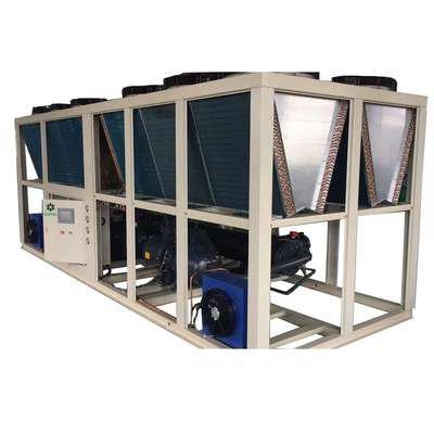 China Air cooled Screw Chiller - Heads