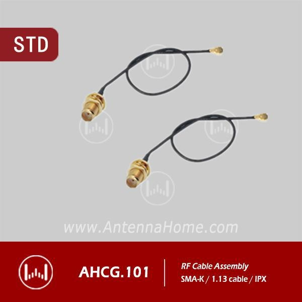 China L120 1.13cable SMA-IPX,DIP cable assy