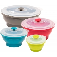 China Collapsible Silicone Food Storage Containers wholesale