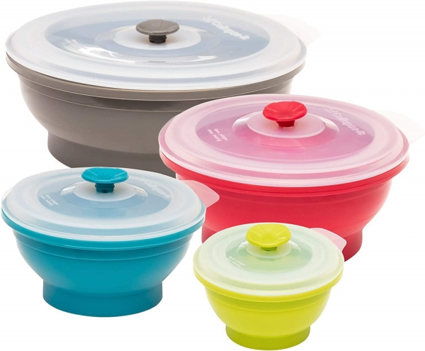 China Collapsible Silicone Food Storage Containers
