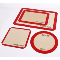 China Reusable Nonstick Liners for Food Safe Silicone Baking Mat Kit wholesale