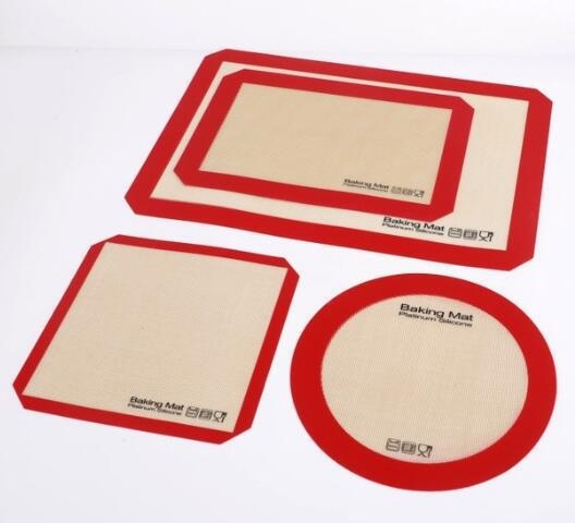 China Reusable Nonstick Liners for Food Safe Silicone Baking Mat Kit