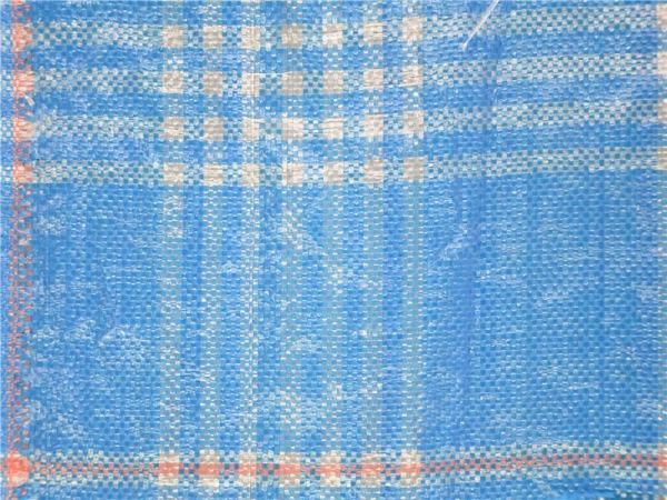 China 100gsm PP Woven Blue and White Garden Anti Weed Fabric