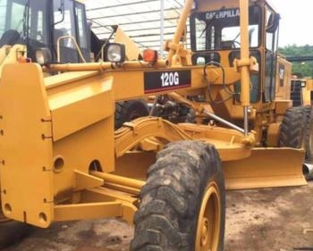 China Used Original japanese good working cat 120g grader