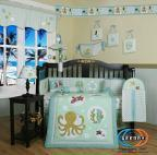 Buy cheap Boutique New Sea World Animals 13PCS CRIB BEDDING SET from wholesalers