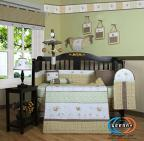 China Boutique New Bumble Bee 13PCS CRIB BEDDING SET wholesale