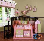 Buy cheap Boutique Baby Girl Teddy Bear 13PCS CRIB BEDDING SET from wholesalers